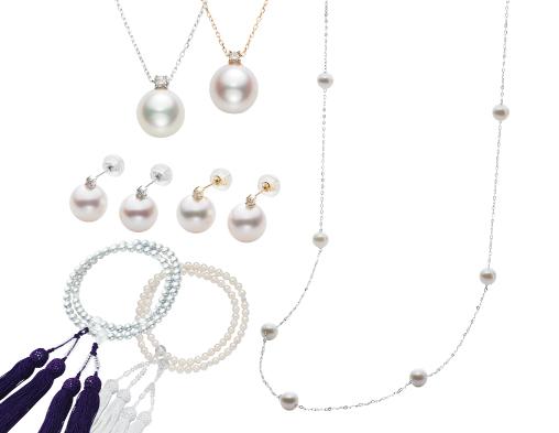 真珠ファッション